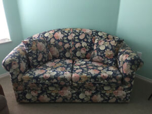 Love seat hide-a-bed. You pick up and it's yours