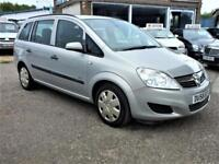 Vauxhall/Opel Zafira Life 1.6i 16v A/C Warranty & Delivery available PX welcome