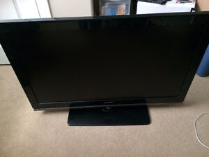 "Selling 46"" Samsung 1080p LCD TV"