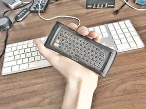 Tiny Bluetooth Media Center Keyboard - Mac & Windows Compatibl