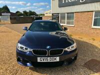 2015 BMW 435d xDRIVE M SPORT COUPE TWIN TURBO DIESEL 313 BHP AUTO 4X4 FBMWSH NAV