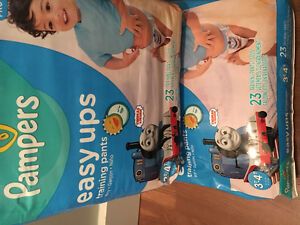 Brand new sealed pampers diapers