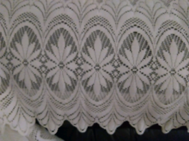 Cream Net Curtains - various sizes