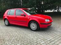 Volkswagen Golf 1.9TDI ( 90bhp ) S 99 V One Owner From New