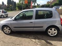 RENAULT CLIO DYNAMIQUE 1.5 DCI 54 PLATE..YEAR MOT..ONE OWNER.£30 YEAR TAX..PX/SWAPS