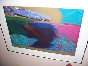 """JAN WINTON'S PAINTING ENTITLED """"EBB AND FLOW"""""""