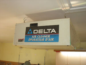 Delta  Ambient Air Cleaner and Cyclone Chip Separator Lid