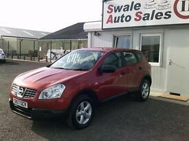 2008 NISSAN QASHQAI 1.5 dCi VISIA, FULL SERVICE HISTORY, GREAT CONDITION