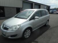 VAUXHALL ZAFIRA DESIGN DIESEL 5 DOOR MANUAL 7 SEATER 93000 MILES