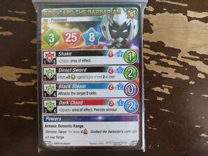 Jeu Krosmaster Arena game - Goultard the Barbarian card EN