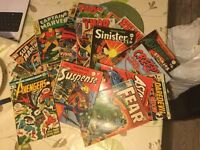 VERY OLD | COMIC COLLECTION | AVENGERS, SPIDER-MAN, ETC