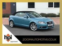 2009 AUDI A3 CONVERTIBLE CABRIOLET 2.0 TDI S LINE AUTOMATIC S TRONIC SPORT AUTO
