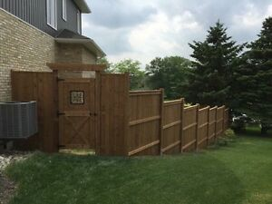 Fences Decks Pergola Stratford Kitchener Area image 1
