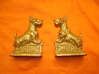 SCOTTISH TERRIER BOOK ENDS.