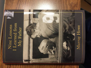 Book - Nine Lessons I Learned from My Father. -  by Murray Howe
