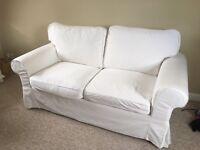 White Sofas x 2