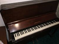 Lippmann Upright Piano. THIS IS NOW SOLD