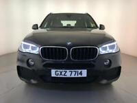 2014 BMW X5 XDRIVE25D M SPORT AUTOMATIC 4WD DIESEL SAT NAV 1 OWNER FROM NEW