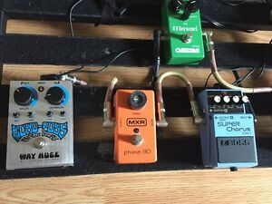 F/T Pedal Train 3 and pedals