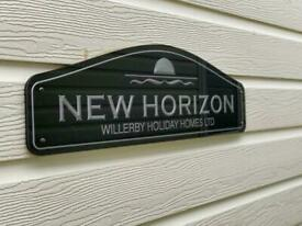 Willerby New Horizon static caravan lodge for sale off site 40x13ft LOOK