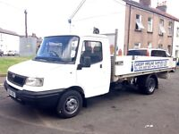 54 Ldv convoy 400 2.4 tdci flat bed low mielege only 45k in clock