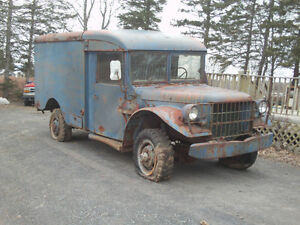 1953 Dodge M43 US Airforce Military ambulance - Clear NS title