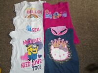 Minions and Home t-shirts
