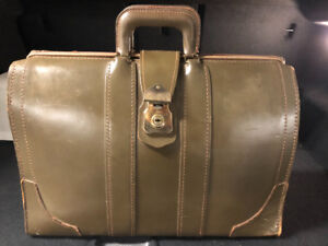 Cheney leather bag made in England