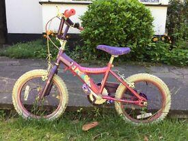 "Girls Disney Princess 16"" bike"