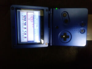 Colbalt Gameboy SP and 12 games