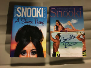 "A Shore Thing"" & ""Gorilla Beach"" novels by Nicole Snooki Polizzi"