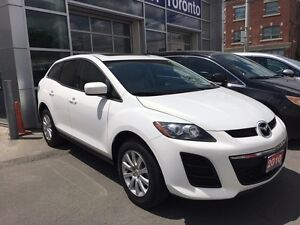 2010 Mazda CX-7 GX 2.5L 4Cyl, Leather, Sunroof, Certified!