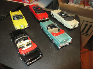 5 Diecast Cars--1:43 scale(5 Convertibles)