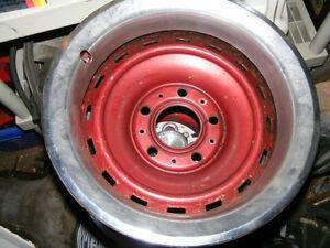 "Chev/GMC 15"" x 8"" steel rims - 4pcs fit Impala Caprice SS"