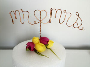Personalized Wedding Hangers, Cake Toppers, and Table Numbers St. John's Newfoundland image 8