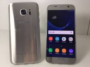 GALAXY S7 32GB SILVER GREAT CONDITION WITH WARRANTY INVOICE