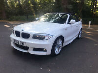 BUY NOW FOR £189.34 PER WEEK 2012 CONVERTIBLE BMW 120 2.0TD M Sport