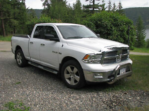 2010 Dodge Power Ram 1500 white Pickup Truck
