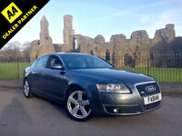 2005 Audi A6 Saloon 2.0TDI 140BHP S Line **Full Leather - Nav - Full History**