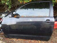 Seat Ibiza mk3 Cupra passenger near side front door mirror glass handle window regulator motor