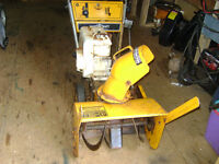Master Craft 4 hp 20 inch cut SINGLE STAGE