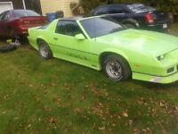 chevrolet camaro 1985 a vendre !