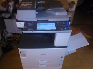 "Ricoh Commercial Photocopier +11x 17"" Print (One Year Warranty)"
