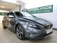 Volvo V40 1.6 D2 115 S/S R-DESIGN [5X SERVICES, LEATHER, HEATED SEATS, DAB RADIO