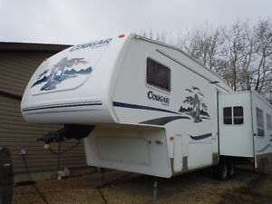 Amazing Cougar 5th Wheel
