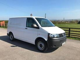 Volkswagen Transporter 2.0TDi 84PS SWB T28 2013 (63) REG 1 CO OWNER FSH IN WHITE