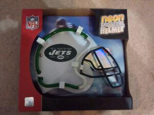 NFL New York Jets Neon Football Helmet Light