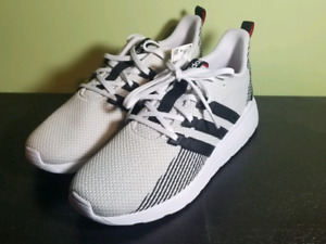 Adidas White Running Shoes - Questar Flow