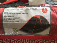 Pro action 2 man dome tent unused
