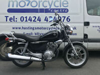 Yamaha YBR125 Custom / Learner Legal Cruiser / Nationwide Delivery / Finance